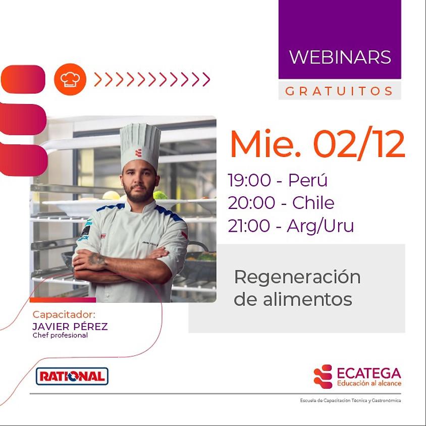 WEBINAR GASTRONÓMICO W-G-021220