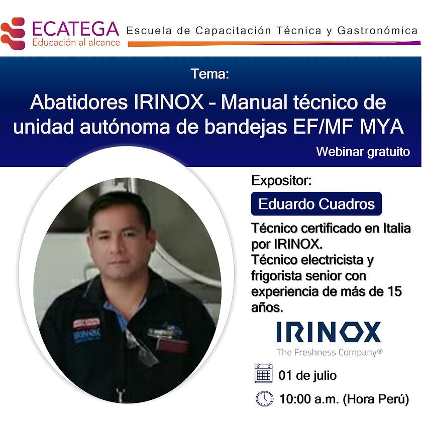 Webinar IRINOX W-I-010720
