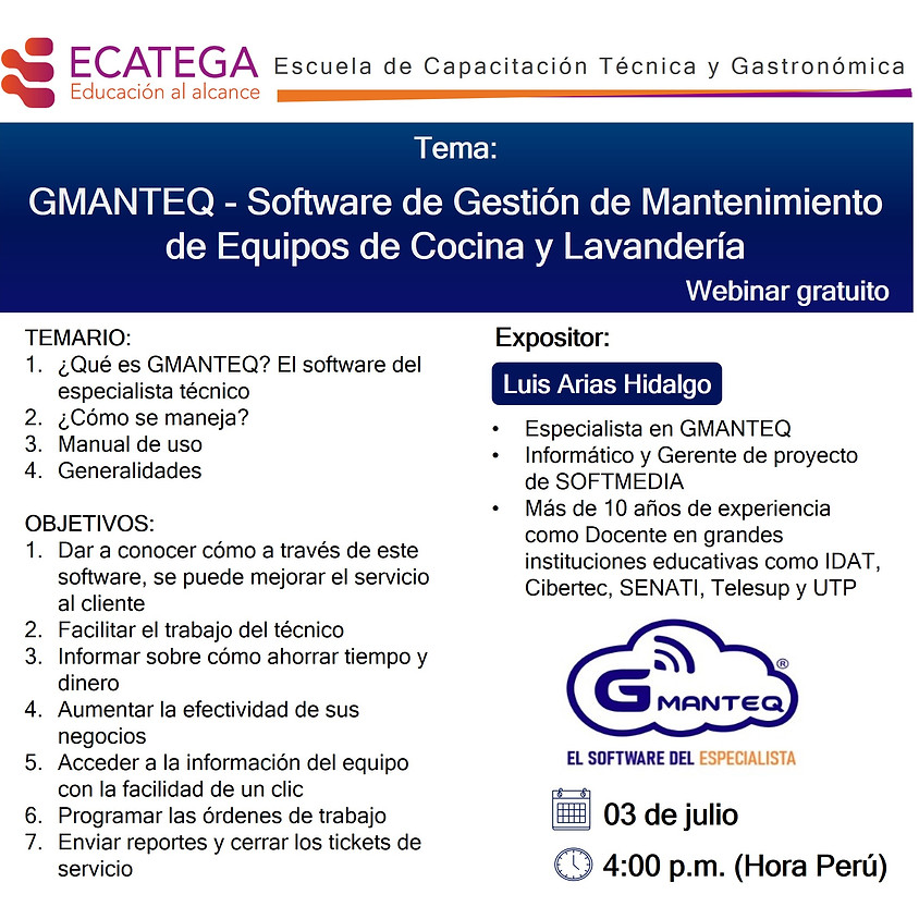 WEBINAR GMANTEQ W-I-030720