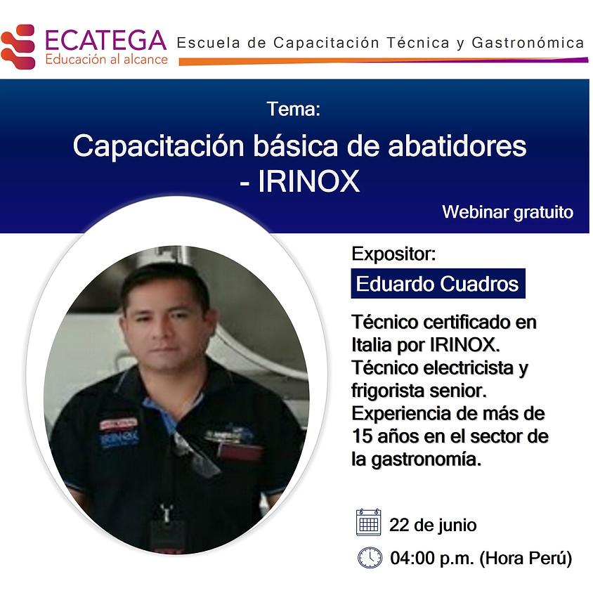 Webinar IRINOX W-I-220620