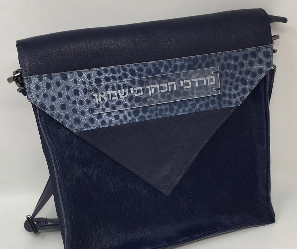 Bag with a triangle flap