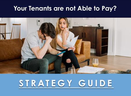Your Tenants are not Able to Pay!? - Crisis 2020