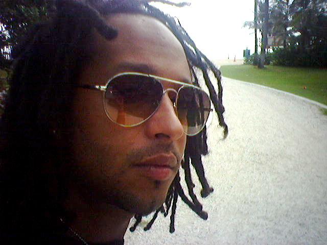 Jalen James in 2005, while still member of the internationally famed Bachata group, Toke D Keda.