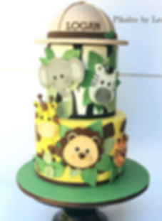 In love with this cake I made to celebra
