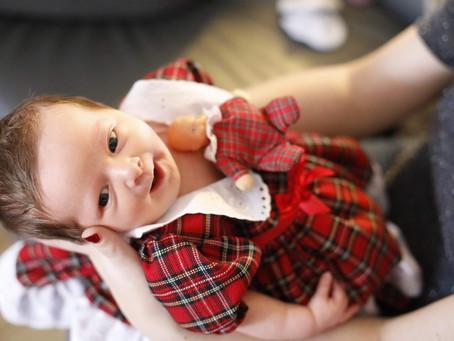 Newborn Photo Shoot, St.Helens, Merseyside, UK - Home Photo Shoot of beautiful Evie