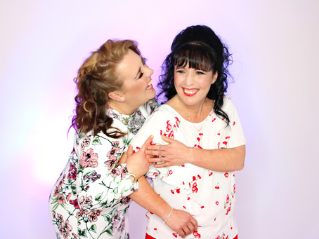 Sisters makeover Photo Shoot - St Helens, Merseyside