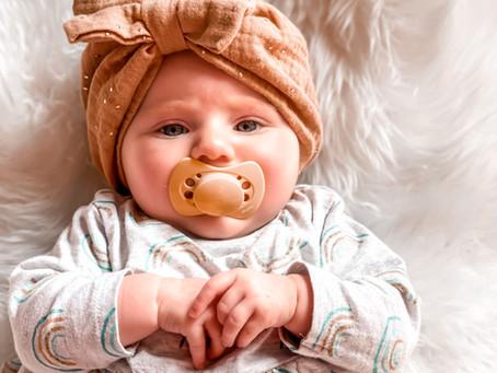 Des sucettes bébé éco-concues