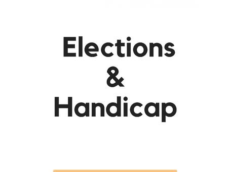 Handicap et élections