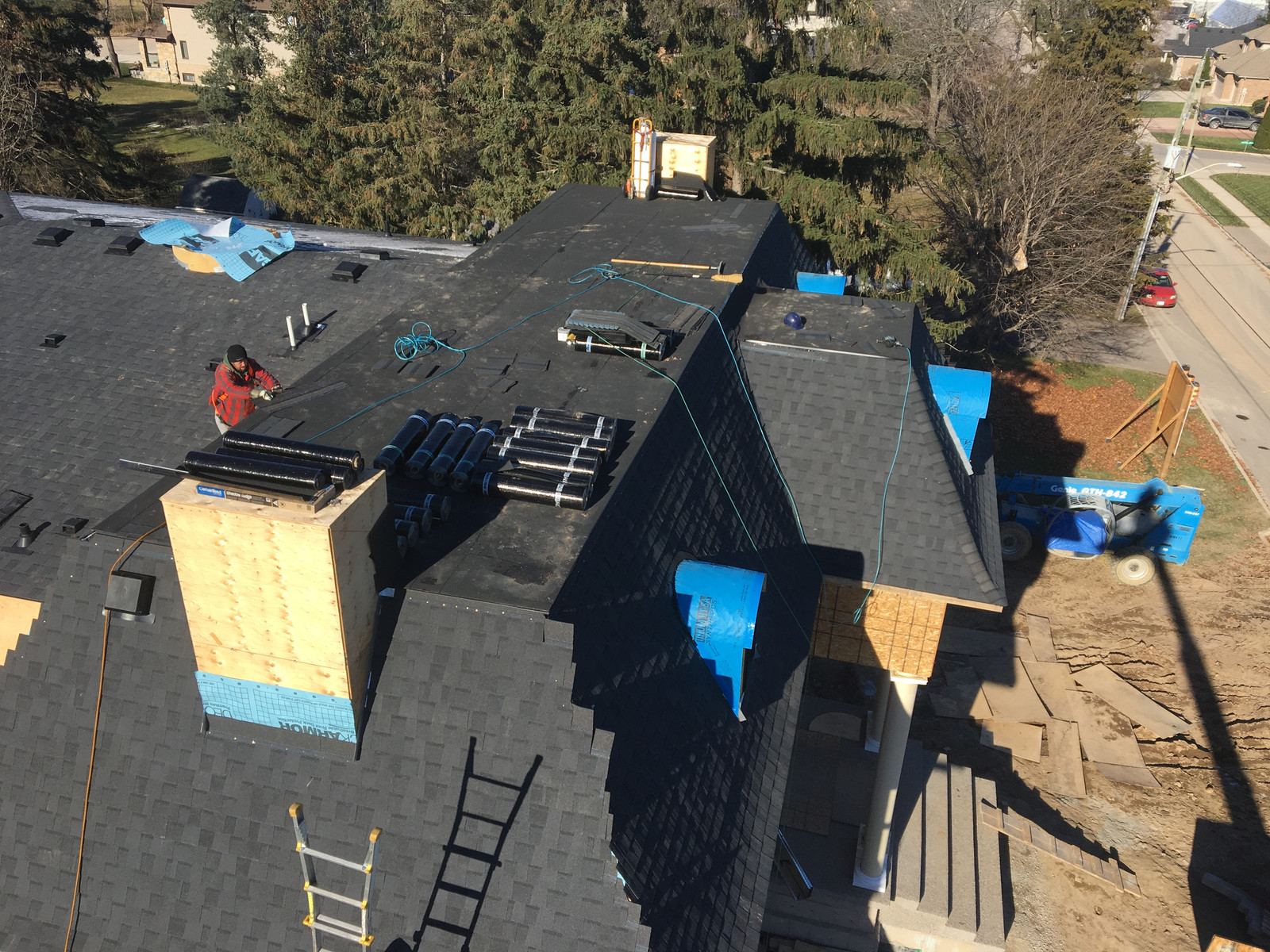 Construction Works Roofing Specializing In Flat Roofing