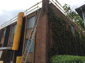 commercial roofing building