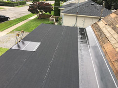 hot aplication roofing