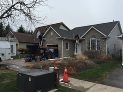 construction works , roofing siding