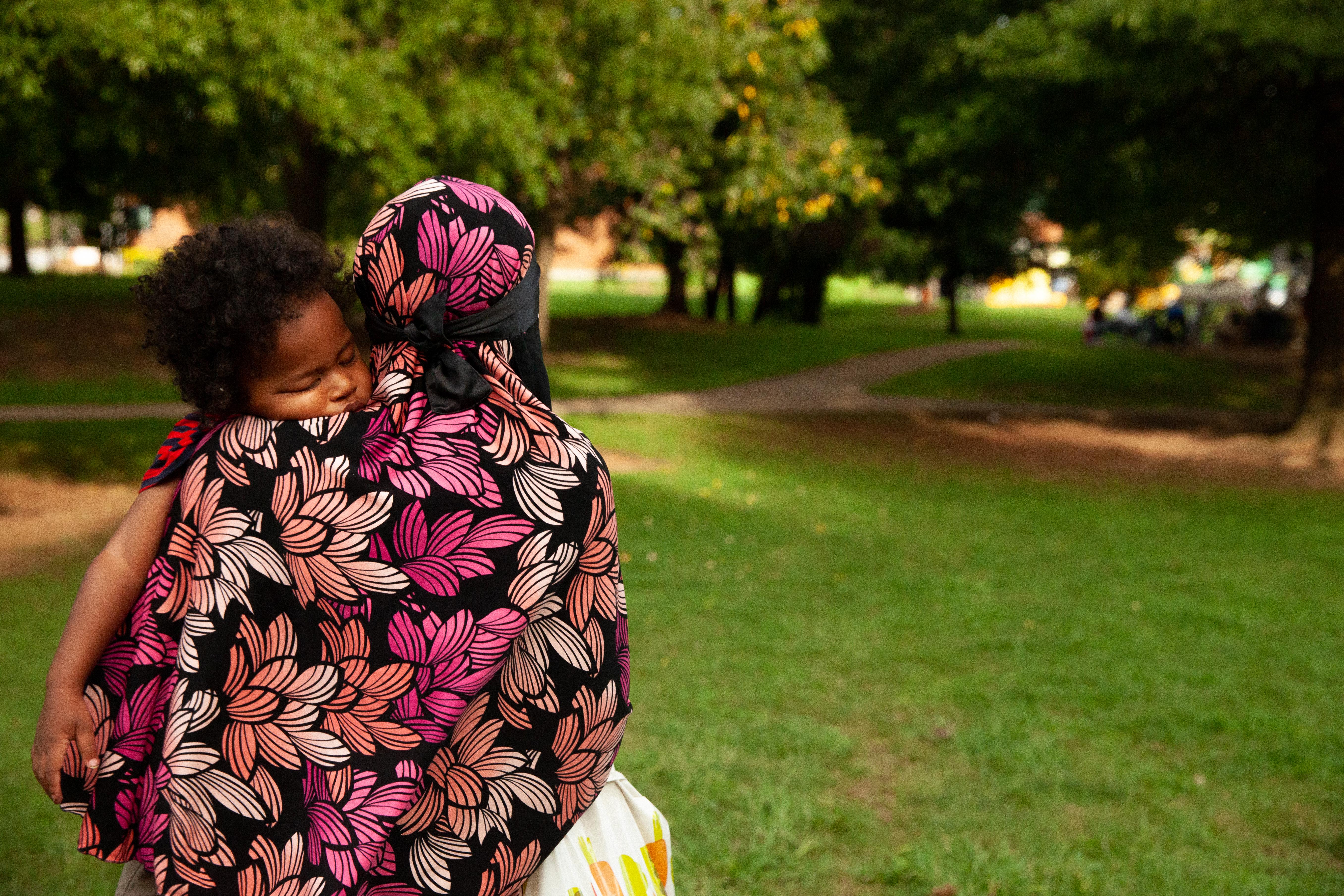 Aisha holding Massive