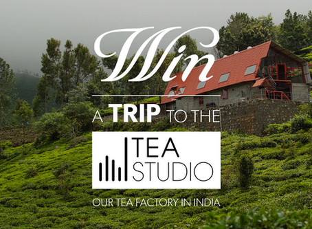 Camellia Sinensis offers a trip for two to the Tea Studio!
