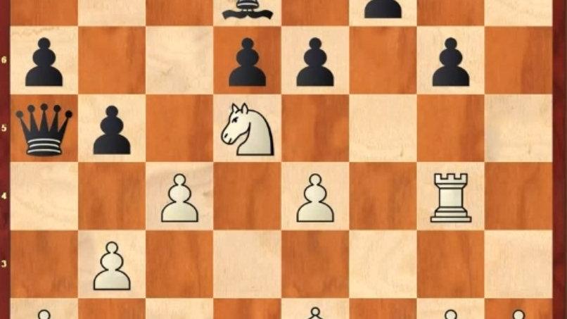 Позиционная игра с тактическим расчетом