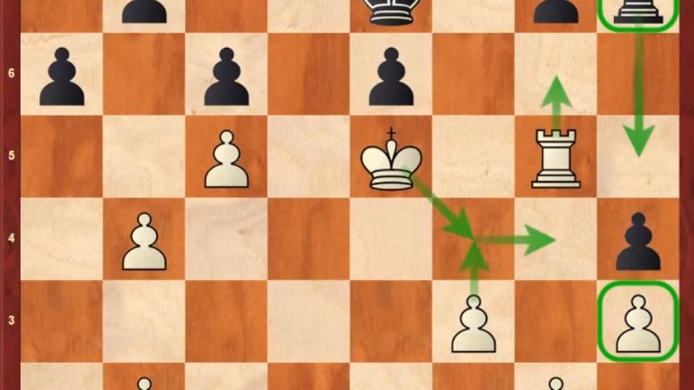 Пассивная ладья - кошмар любого шахматиста