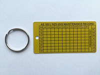 Fire Extinguisher Maintenance Tag purchase from Fire Solutions 4 U