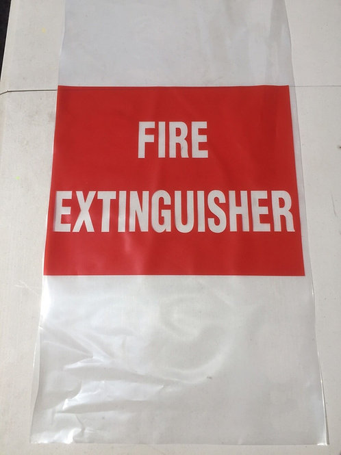 Fire Extinguisher Bag UV Treated Small