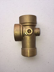 22mm Brass 5 way Pressure Guage from Fire Solutions 4 U