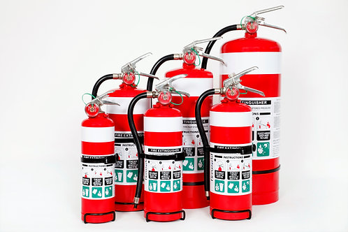 2.5kg ABE Dry Powder Fire Extinguisher