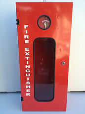 FIre Extinguisher Metal Cabinet from Fire Solutions 4 U