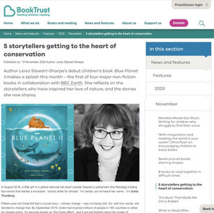 The Book Trust Feature