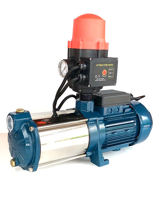 Automatic Self Priming Water Pump 1hp MH63-5 Garden Water Pump Tank Bore ISO9001