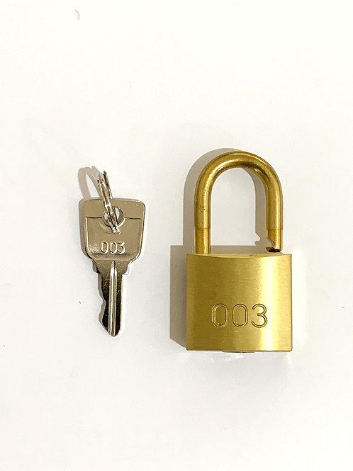 120 x Fire Service Brass Pad Lock 003 Series Keyed Alike