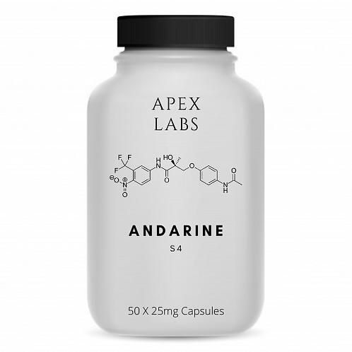Andarine S4 - 50 x 25mg Caps (7 Week Supply)