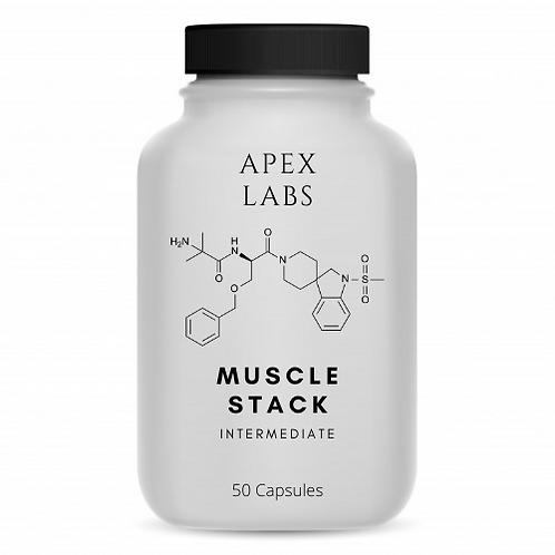 Intermediate Muscle Stack | LGD, RAD140, Ibutamoren Sarms