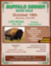 Buffalo Supper Oct. 19