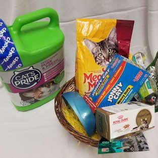Cat Lovers Basket 1