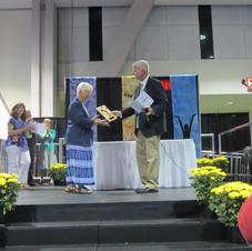 Jan Davis, 2013 AUCE Founders Award