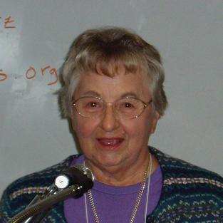 Ruby Schroeder, 2009 Founders Award