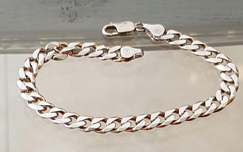 Men's jewelry , Men's Bracelet Gourmet , Sterling silver , Give for men