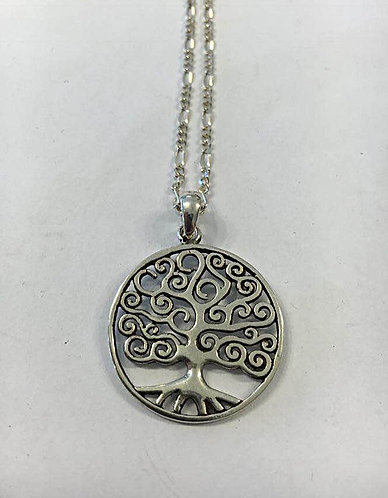 Silver The tree of life pendant , Silver 925 pendant, Tree of life necklace