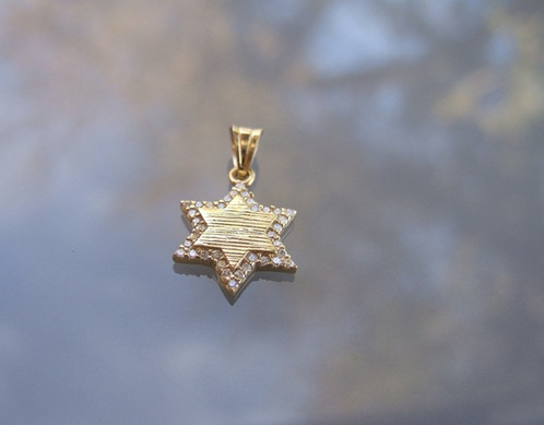 Star of david 14k gold pendant star of david pendant italian star of david 14k gold pendant star of david pendant italian gold mozeypictures Gallery