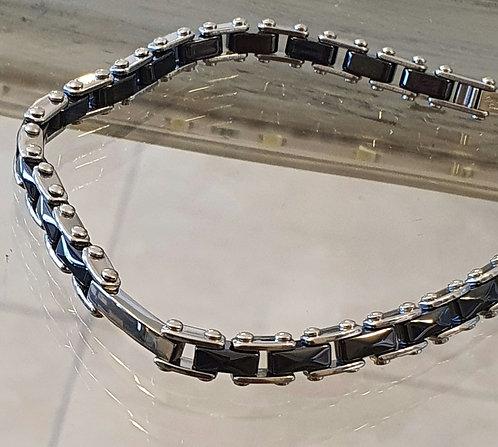 men's bracelet ,Ceramic bracelet ,Men's jewelry, Gift for men