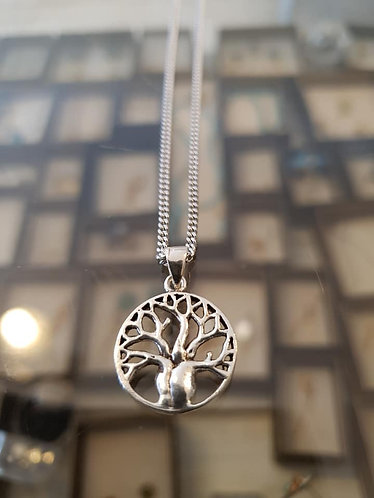 Silver The tree of life pendant , Silver 925 pendant, Tree of life neckl