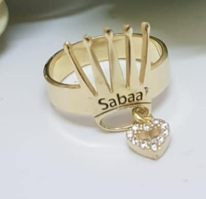 Gold-filled Crown Ring , A personal engraving ring, Crown ring