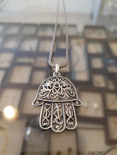 Hamsa pendant, ,Silver 925