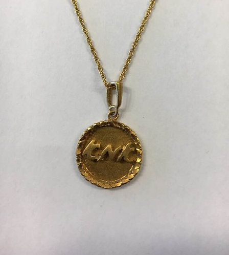 Mom necklace, Gold filled necklace, Mom pendant