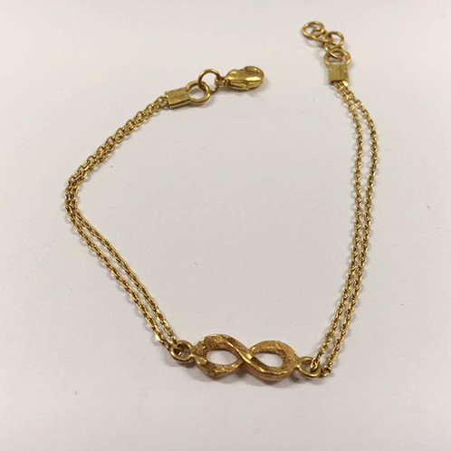Infinity Bracelet S Gold Filled Gift For Her