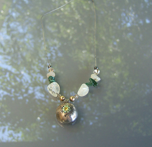 Handmade silver necklece