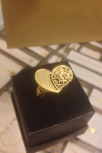 Gold-filled Heart Ring