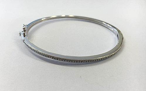 Sterling silver bracelet ,Hard bracelet ,Elegant bracelet