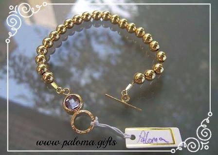Goldfilled bracelet ,Beads bracelet