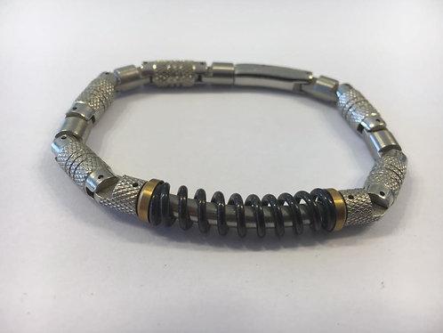 Stainless Steel reel men's Bracelet