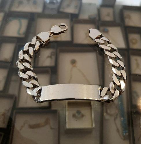 Men's jewelry , Men's Bracelet Gourmet , Sterling silver , Give for him