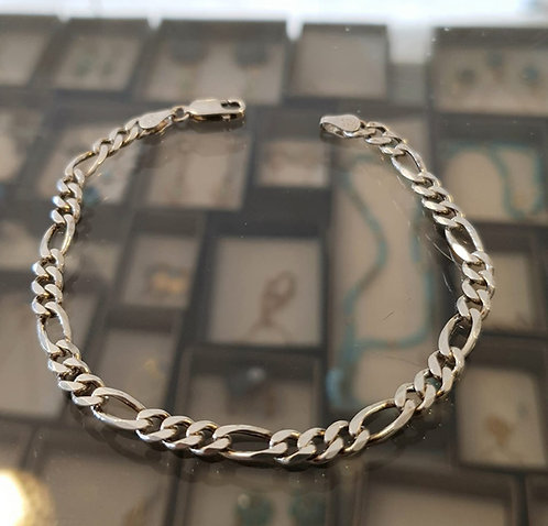 Men's jewelry , Men's Bracelet Gourmet , Sterling silver , Give